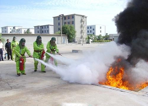 平和縣安委會召開行業部門消防安全培訓會