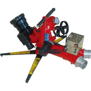 移動式自擺電控消防水炮